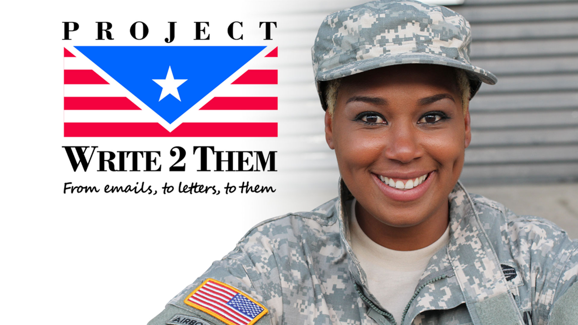 Project Write2Them…Turning email into letters from home